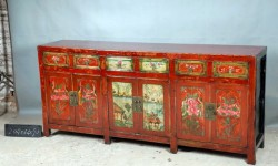6dr 6drw Cabinet Red